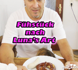 Frühstück nach Luna's Art!!!